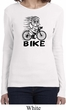 Black Penguin Power Bike Ladies Long Sleeve Shirt