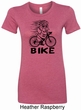 Black Penguin Power Bike Ladies Longer Length Shirt
