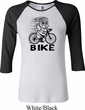 Black Penguin Power Bike Ladies Raglan Shirt
