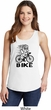 Black Penguin Power Bike Ladies Tank Top
