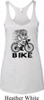 Black Penguin Power Bike Ladies Tri Blend Racerback Tank Top