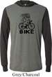 Black Penguin Power Bike Lightweight Hoodie Tee