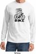 Black Penguin Power Bike Long Sleeve Shirt