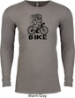 Black Penguin Power Bike Long Sleeve Thermal Shirt