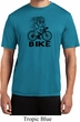 Black Penguin Power Bike Mens Moisture Wicking Shirt