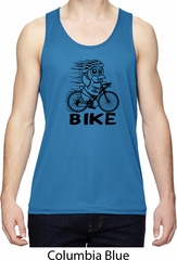 Black Penguin Power Bike Mens Moisture Wicking Tanktop