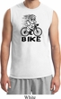 Black Penguin Power Bike Mens Muscle Shirt
