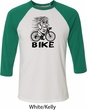 Black Penguin Power Bike Mens Raglan Shirt