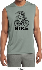 Black Penguin Power Bike Mens Sleeveless Moisture Wicking Shirt
