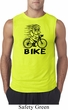 Black Penguin Power Bike Mens Sleeveless Shirt