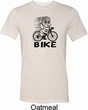 Black Penguin Power Bike Mens Tri Blend Crewneck Shirt