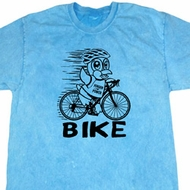 Black Penguin Power Bike Mineral Tie Dye Shirt
