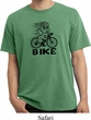 Black Penguin Power Bike Pigment Dyed Shirt
