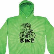 Black Penguin Power Bike Tie Dye Hoodie