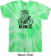 Black Penguin Power Bike Twist Tie Dye Shirt