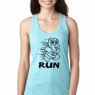 Black Penguin Power Run Ladies Ideal Tank Top
