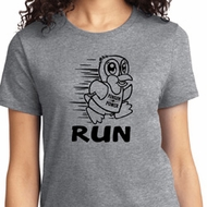 Black Penguin Power Run Ladies Shirt