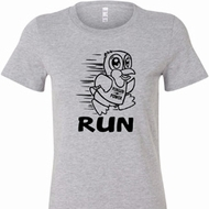 Black Penguin Power Run Ladies Shirts
