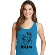 Black Penguin Power Run Ladies Tank Top