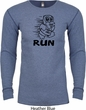 Black Penguin Power Run Long Sleeve Thermal Shirt
