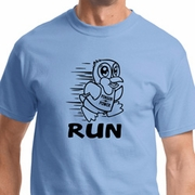 Black Penguin Power Run Mens Shirts
