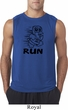Black Penguin Power Run Mens Sleeveless Shirt