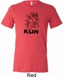 Black Penguin Power Run Mens Tri Blend Crewneck Shirt