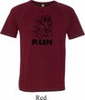 Black Penguin Power Run Mens Tri Blend Shirt