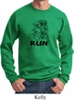 Black Penguin Power Run Sweatshirt