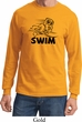 Black Penguin Power Swim Long Sleeve Shirt