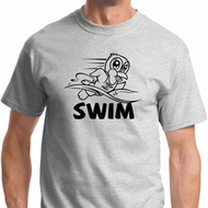 Black Penguin Power Swim Mens Shirts