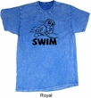 Black Penguin Power Swim Mineral Washed Tie Dye Shirt