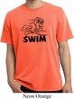 Black Penguin Power Swim Pigment Dyed T-shirt