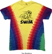 Black Penguin Power Swim Premium Tie Dye Shirt