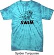 Black Penguin Power Swim Spider Tie Dye Shirt