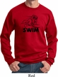 Black Penguin Power Swim Sweatshirt