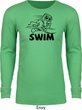 Black Penguin Power Swim Thermal Shirt