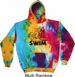 Black Penguin Power Swim Tie Dye Hoodie