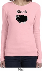 Black Sheep of the Family Funny Ladies Long Sleeve Shirt