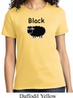 Black Sheep of the Family Funny Ladies Shirt