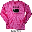 Black Sheep of the Family Funny Long Sleeve Tie Dye Shirt