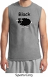 Black Sheep of the Family Funny Mens Muscle Shirt