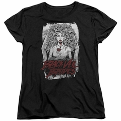 Black Veil Brides Womens Shirt Coffin Queen Black T-Shirt
