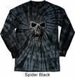 Black Widow Long Sleeve Tie Dye Shirt