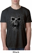 Black Widow Mens Black Burnout Shirt