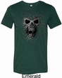 Black Widow Mens Tri Blend Crewneck Shirt