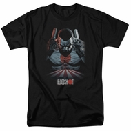 Bloodshot Shirt Blood Lines Black T-Shirt