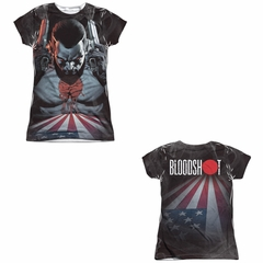 Bloodshot Shirt Blood Lines Sublimation Juniors Shirt