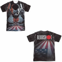 Bloodshot Shirt Blood Lines Sublimation Shirt Front/Back Print