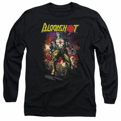 Bloodshot Shirt Comic Long Sleeve Black Tee T-Shirt
